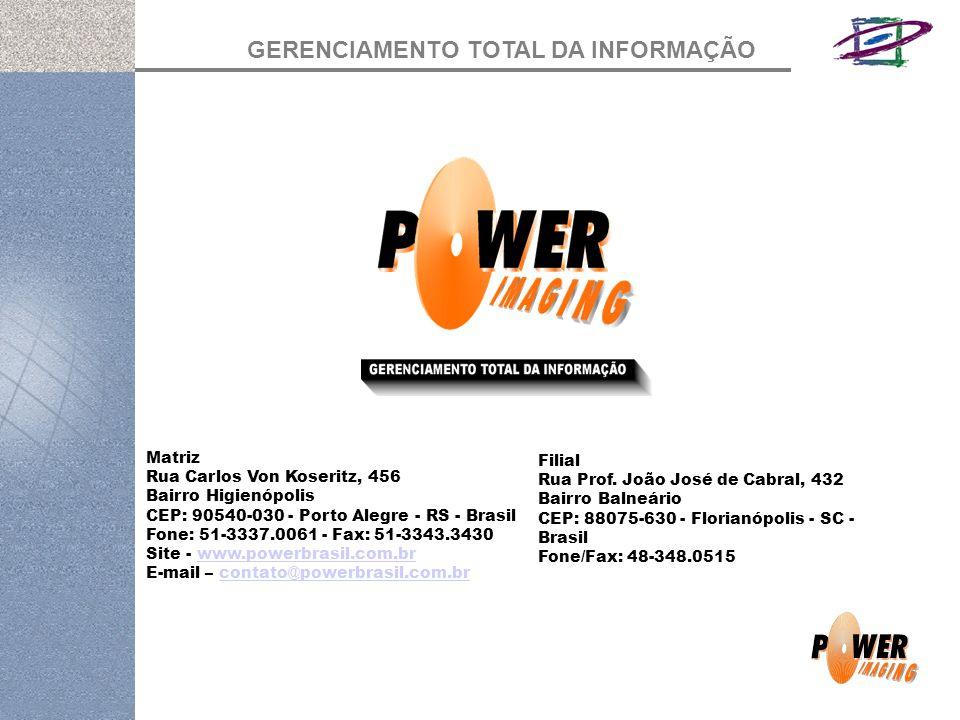 Matriz Rua Carlos Von Koseritz, 456. Bairro Higienópolis. CEP: 90540-030 - Porto Alegre - RS - Brasil.