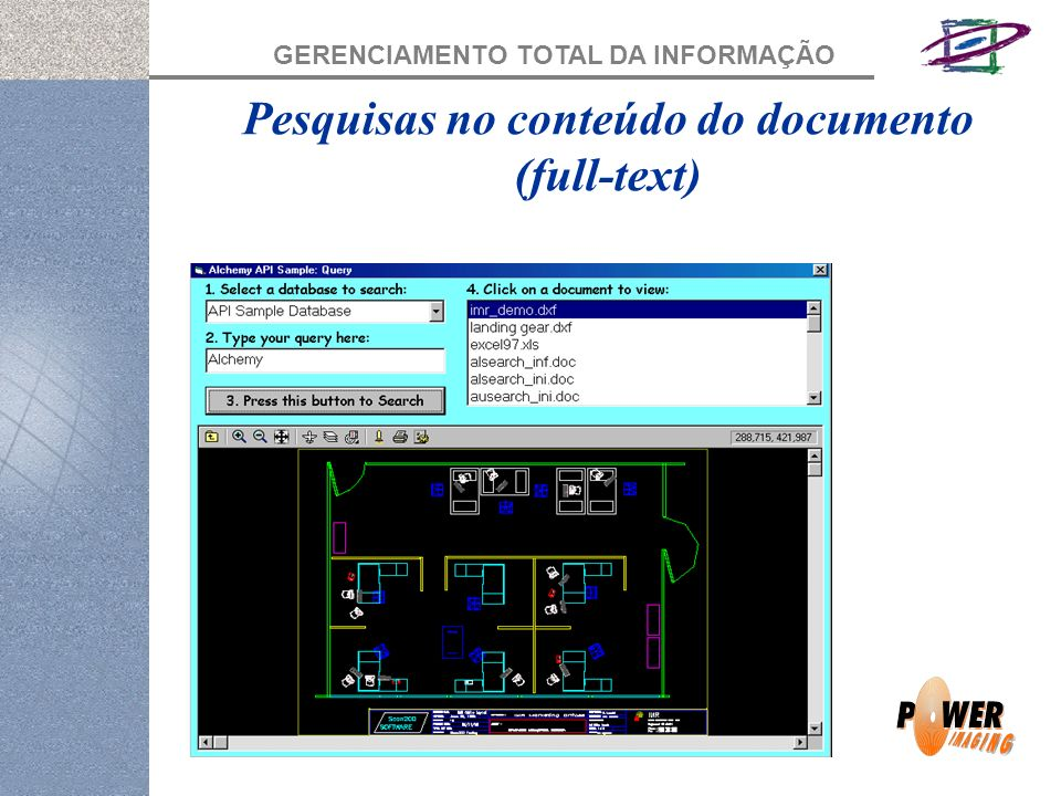 Pesquisas no conteúdo do documento (full-text)