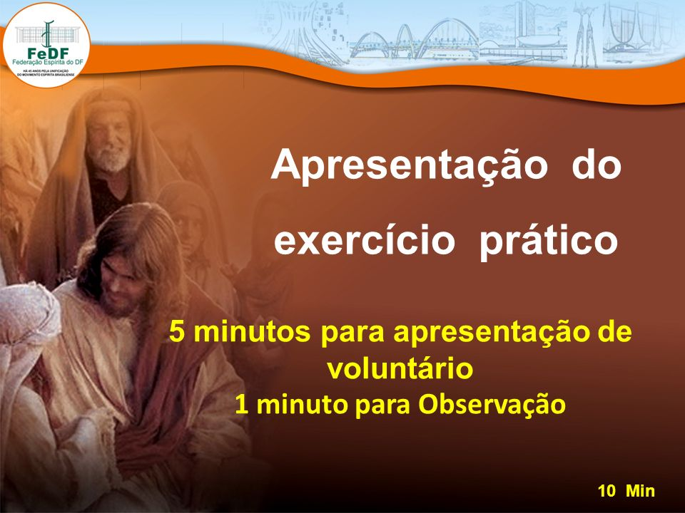 Apresentação do exercício prático