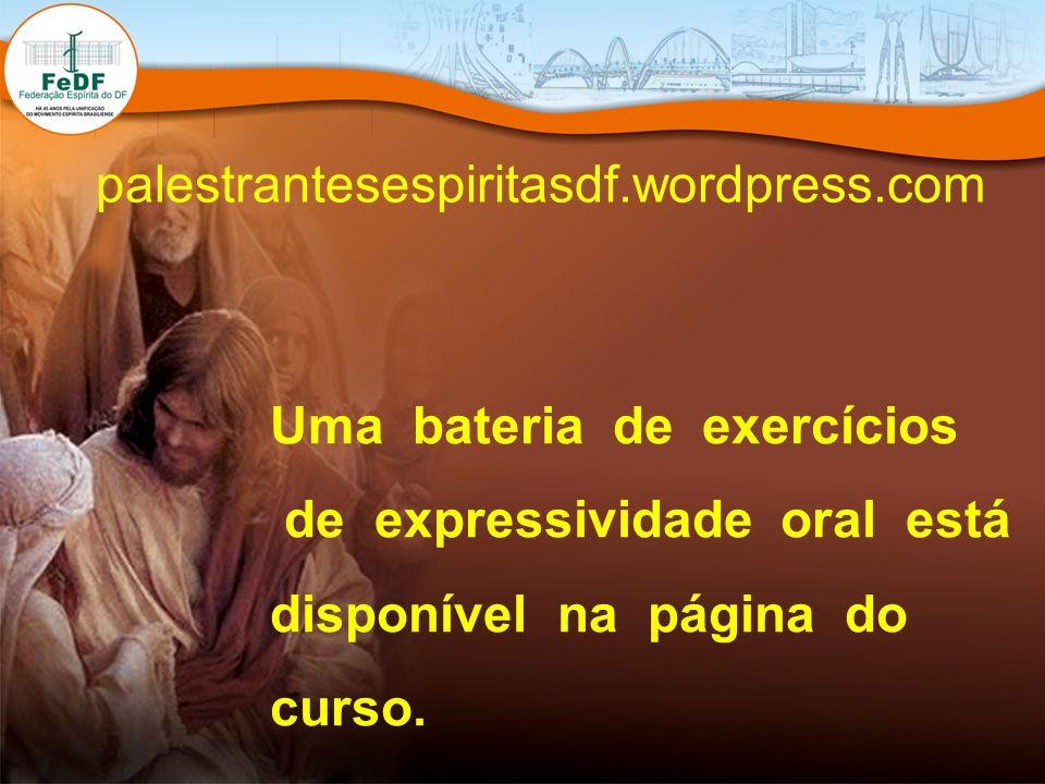 palestrantesespiritasdf.wordpress.com Uma bateria de exercícios.