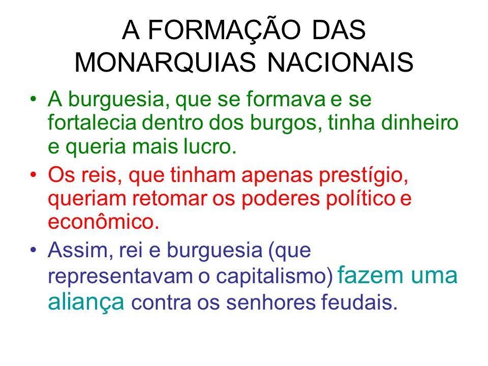 A FORMAÇÃO DAS MONARQUIAS NACIONAIS