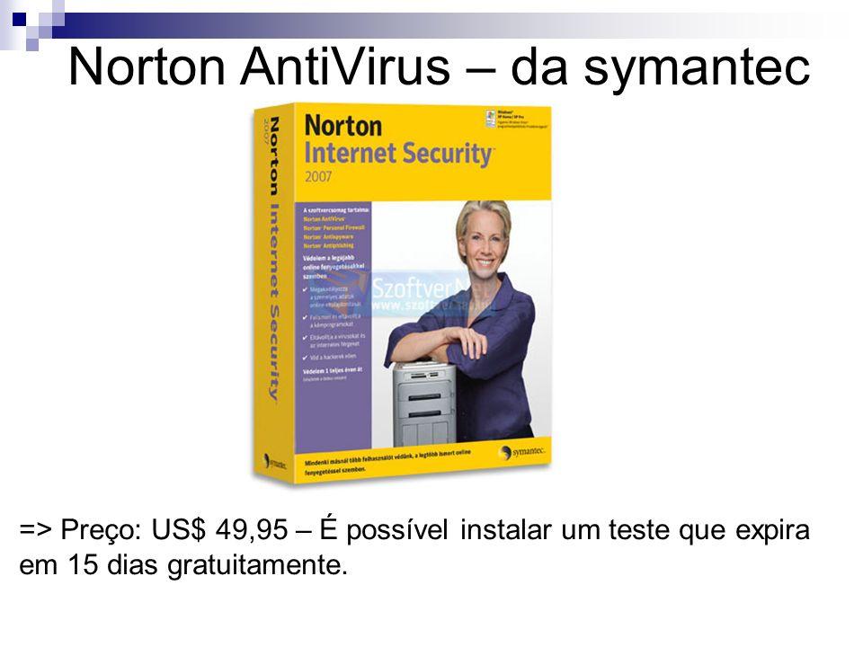 Norton AntiVirus – da symantec
