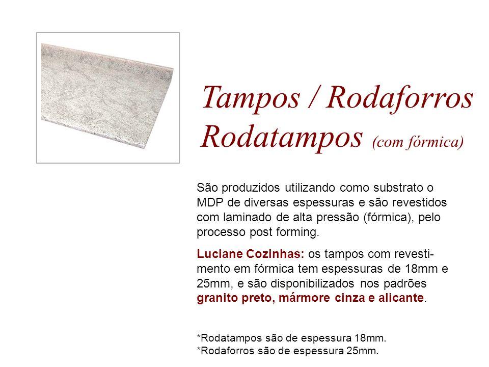 Tampos / Rodaforros Rodatampos (com fórmica)