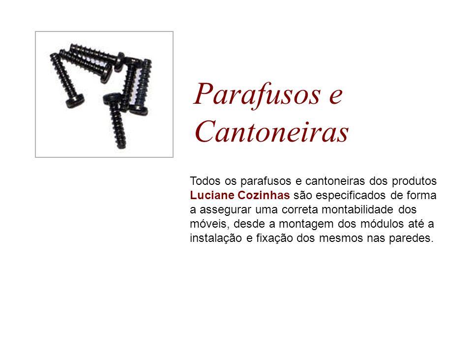 Parafusos e Cantoneiras