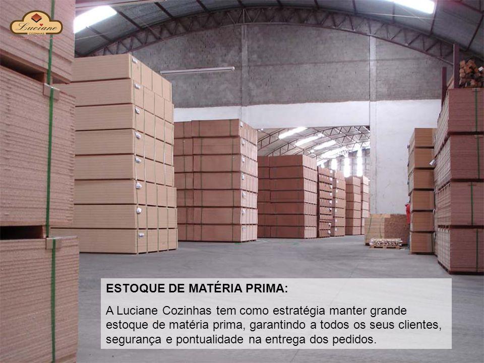 ESTOQUE DE MATÉRIA PRIMA:
