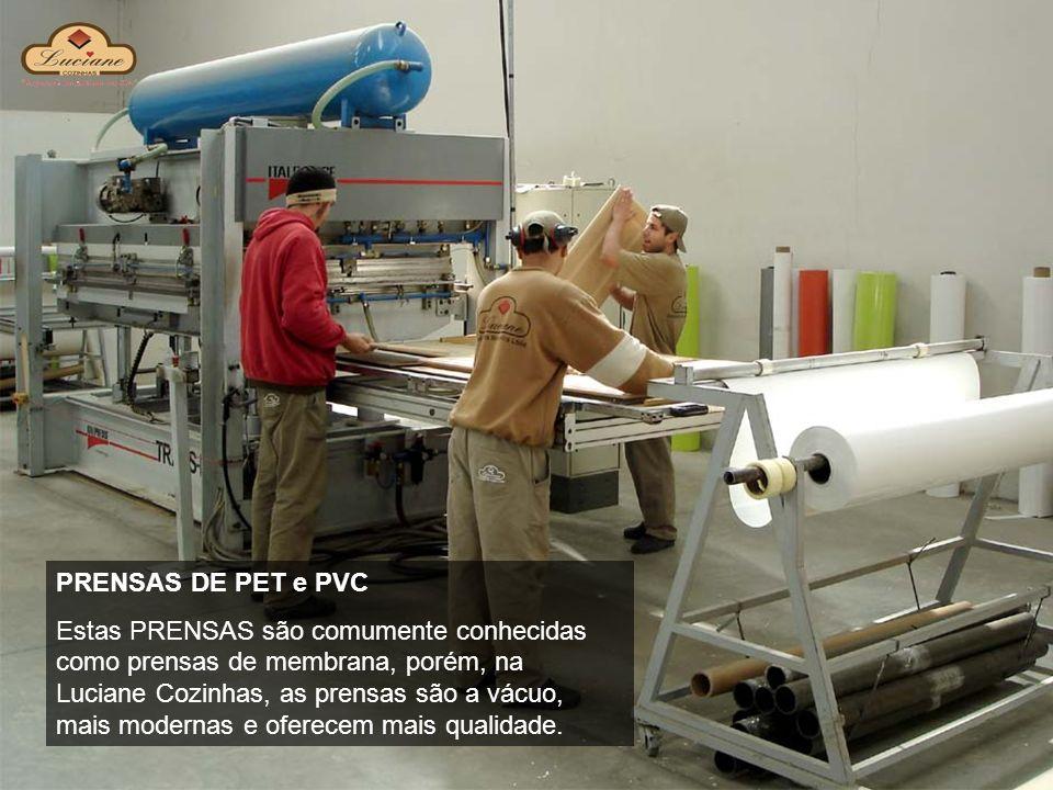 PRENSAS DE PET e PVC