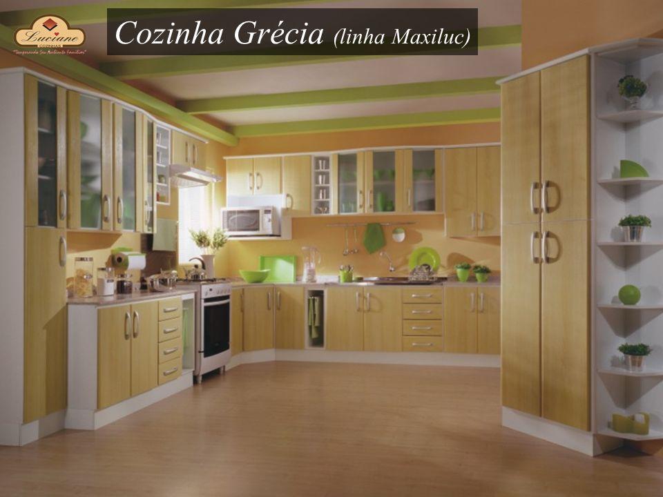 Cozinha Grécia (linha Maxiluc)
