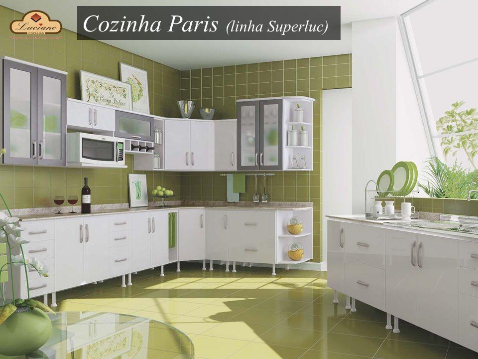 Cozinha Paris (linha Superluc)