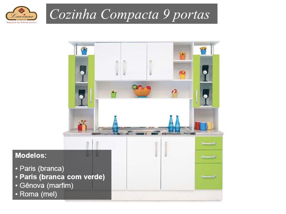 Cozinha Compacta 9 portas