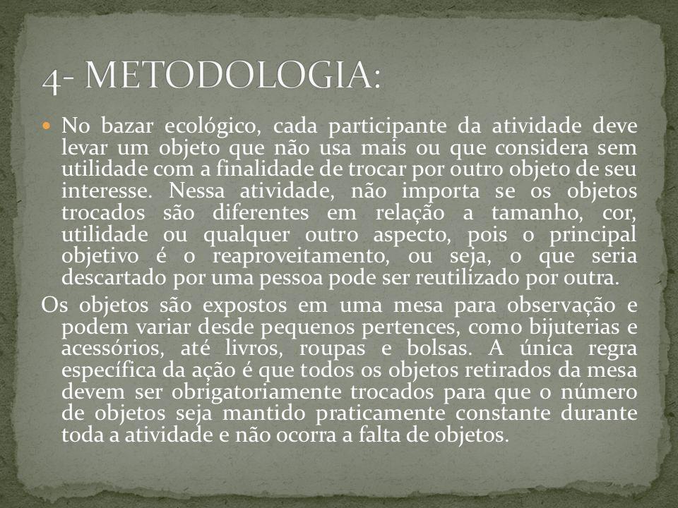 4- METODOLOGIA: