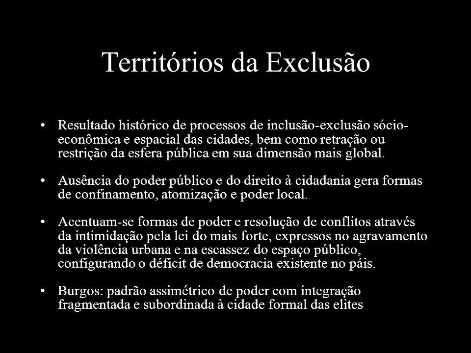 Territórios da Exclusão