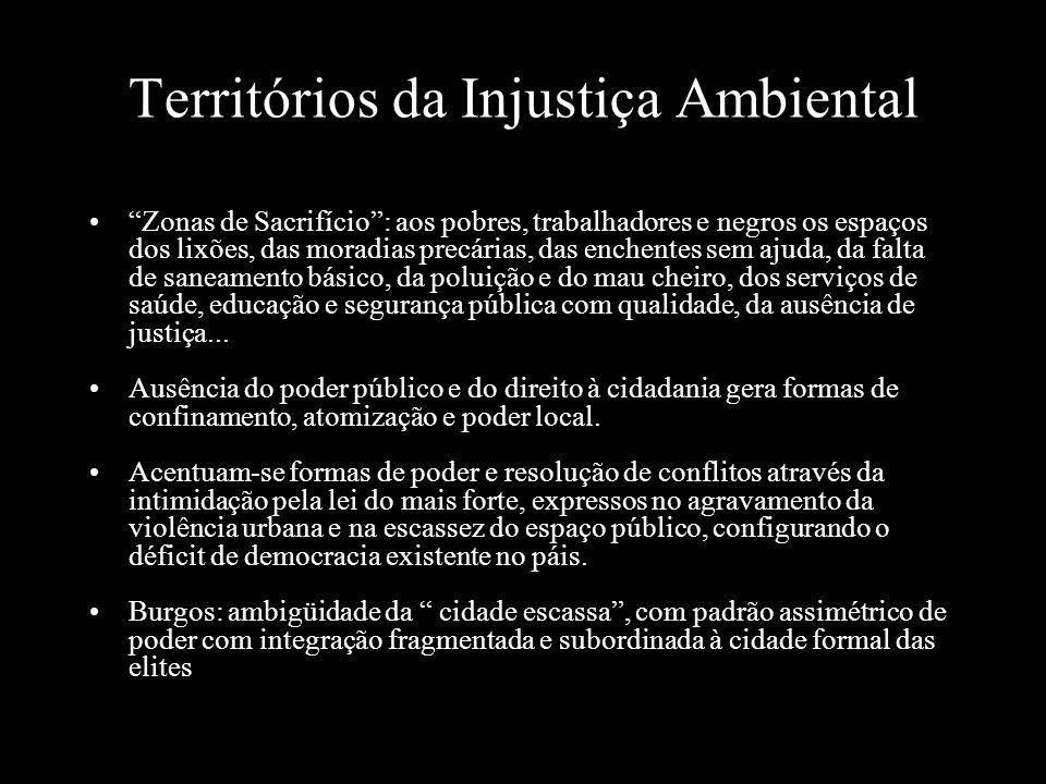Territórios da Injustiça Ambiental