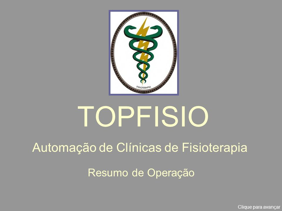 Automação de Clínicas de Fisioterapia
