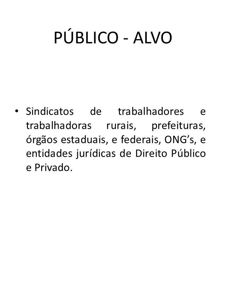 PÚBLICO - ALVO
