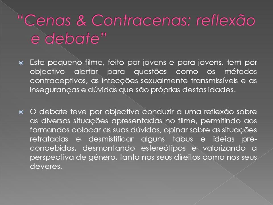 Cenas & Contracenas: reflexão e debate