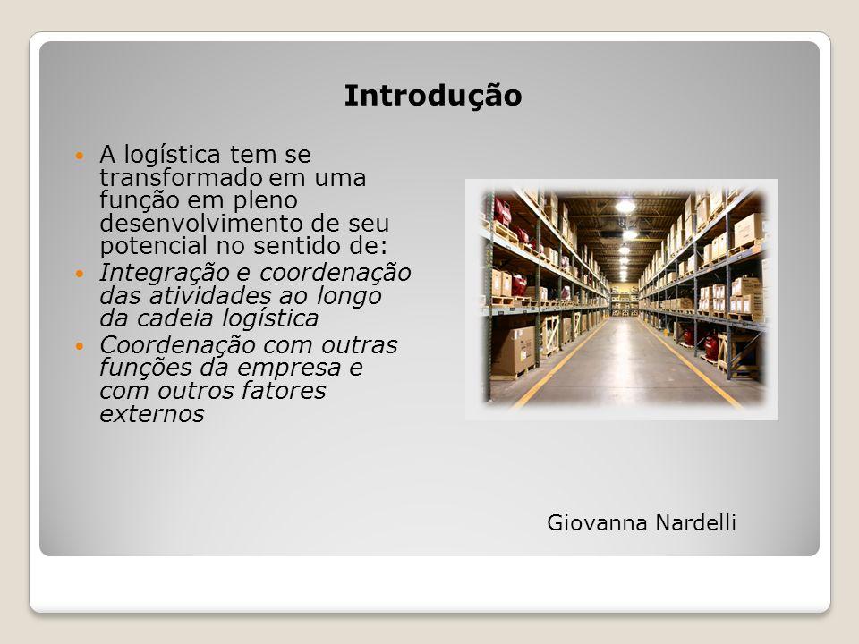 Introdução A logística tem se transformado em uma função em pleno desenvolvimento de seu potencial no sentido de: