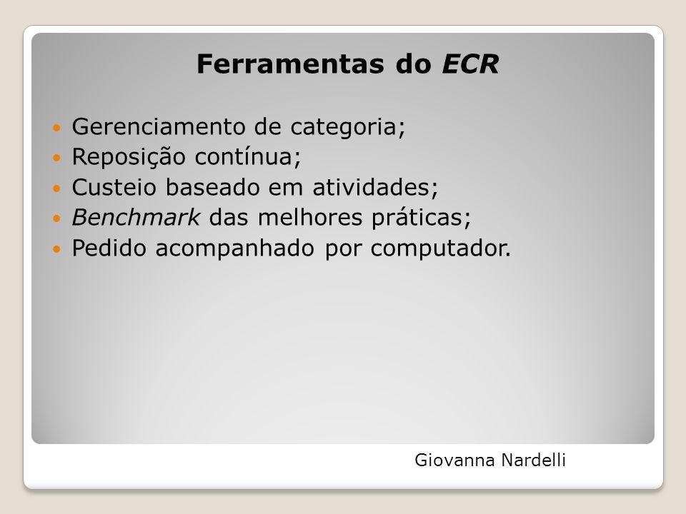 Ferramentas do ECR Gerenciamento de categoria; Reposição contínua;