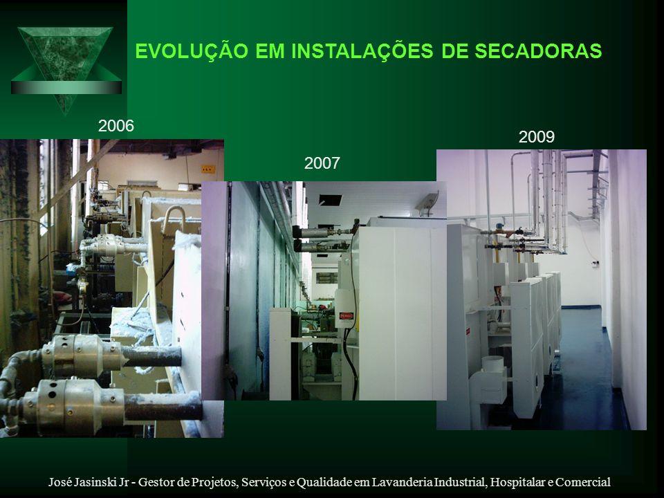 EVOLUÇÃO EM INSTALAÇÕES DE SECADORAS