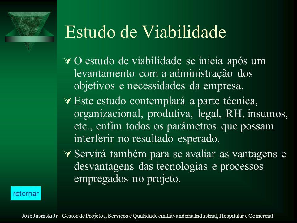 Estudo de Viabilidade O estudo de viabilidade se inicia após um levantamento com a administração dos objetivos e necessidades da empresa.
