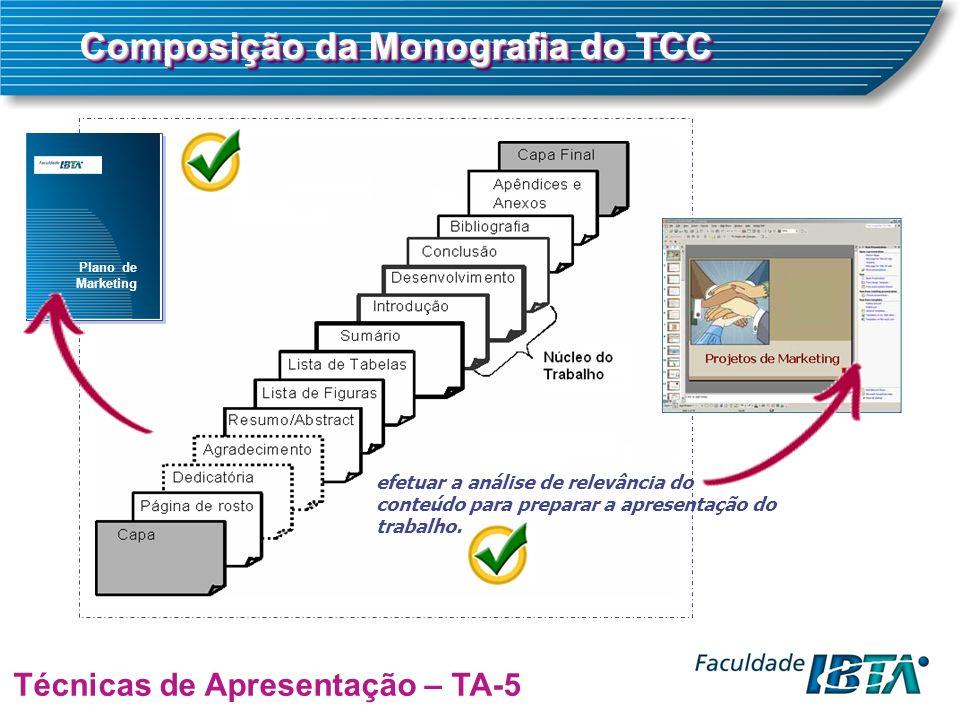 Composição da Monografia do TCC