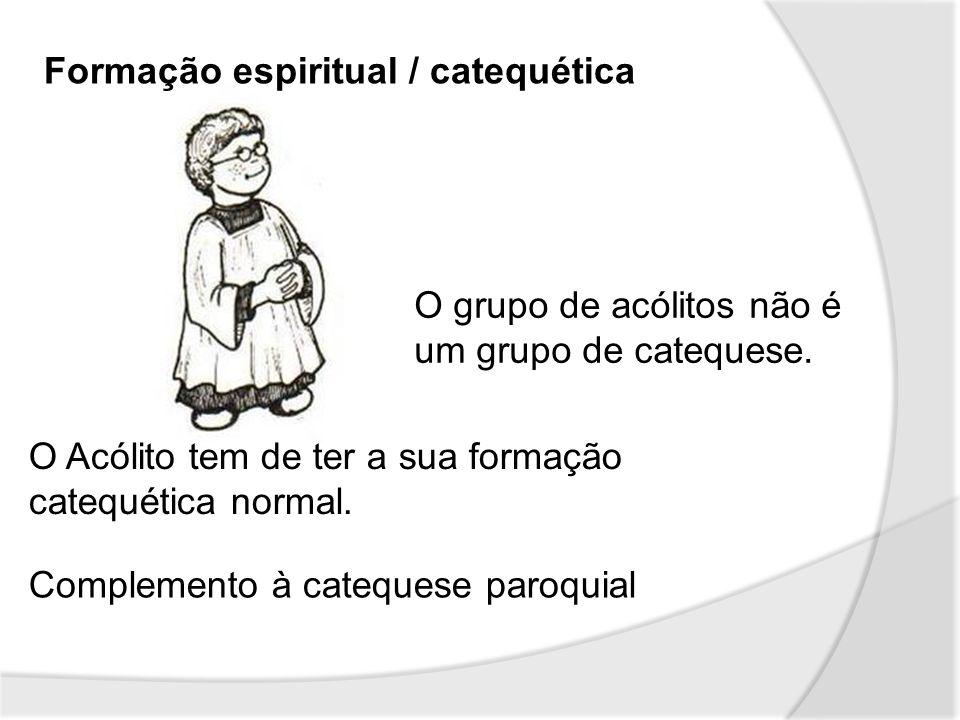 Formação espiritual / catequética