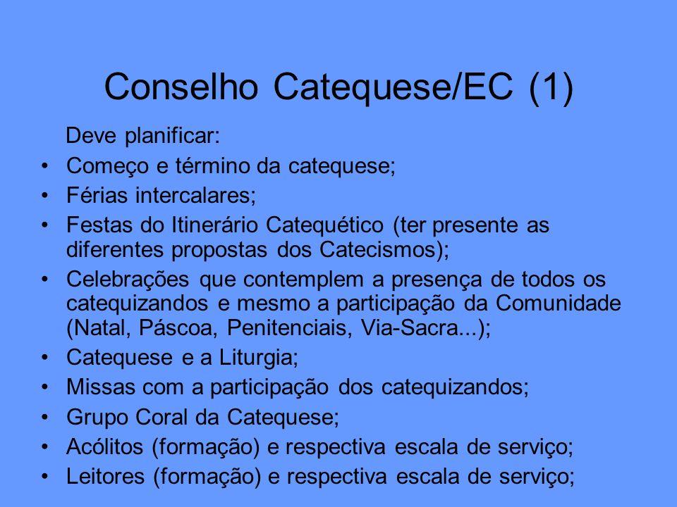 Conselho Catequese/EC (1)