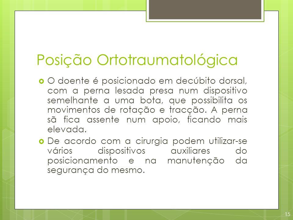 Posição Ortotraumatológica