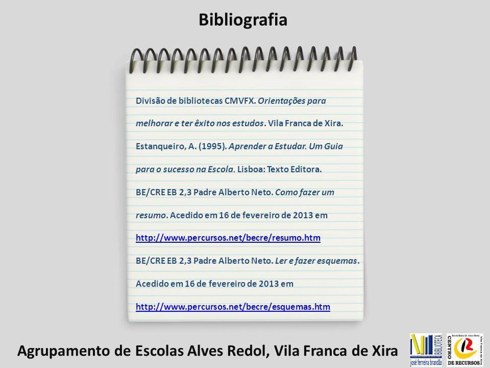 Bibliografia Agrupamento de Escolas Alves Redol, Vila Franca de Xira