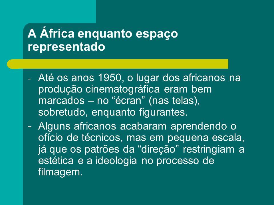 A África enquanto espaço representado