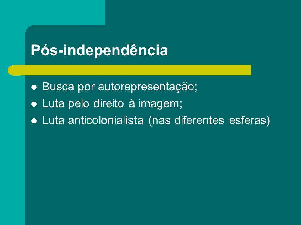Pós-independência Busca por autorepresentação;
