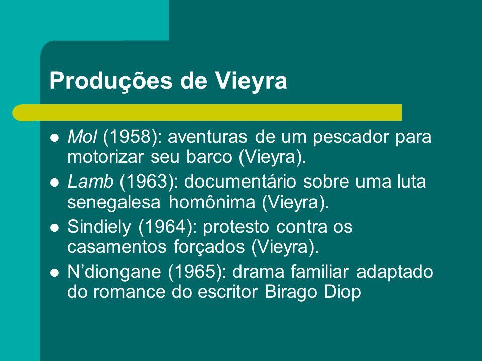 Produções de Vieyra Mol (1958): aventuras de um pescador para motorizar seu barco (Vieyra).