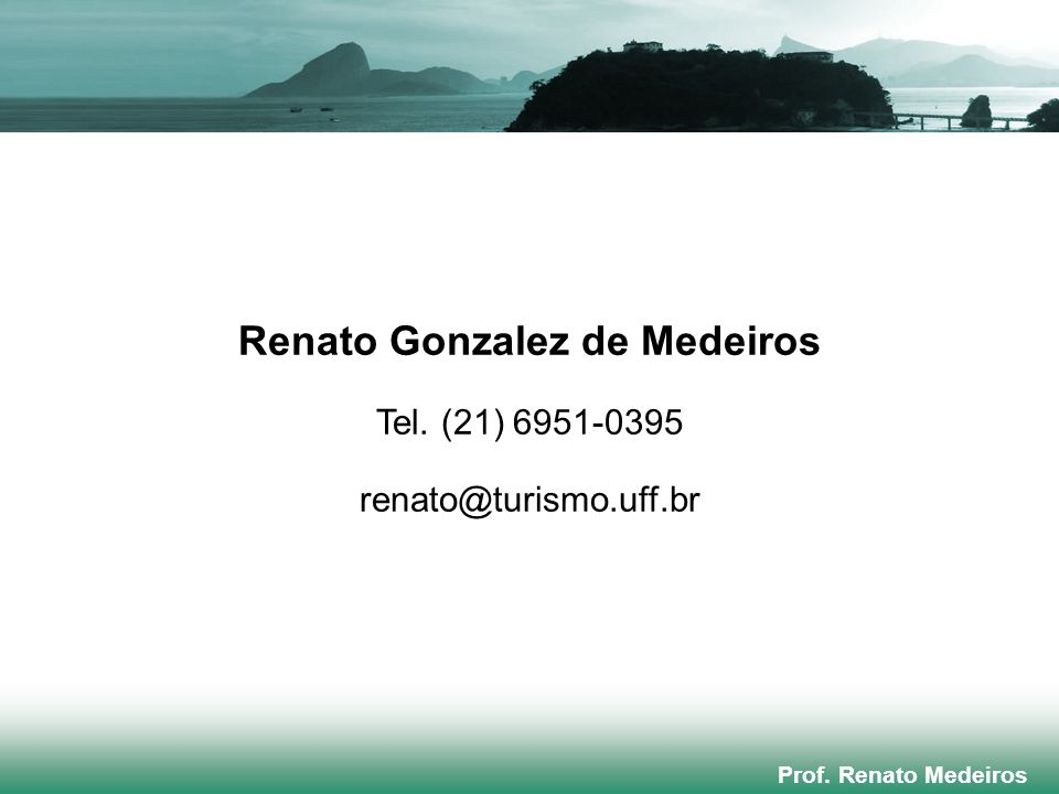 Renato Gonzalez de Medeiros