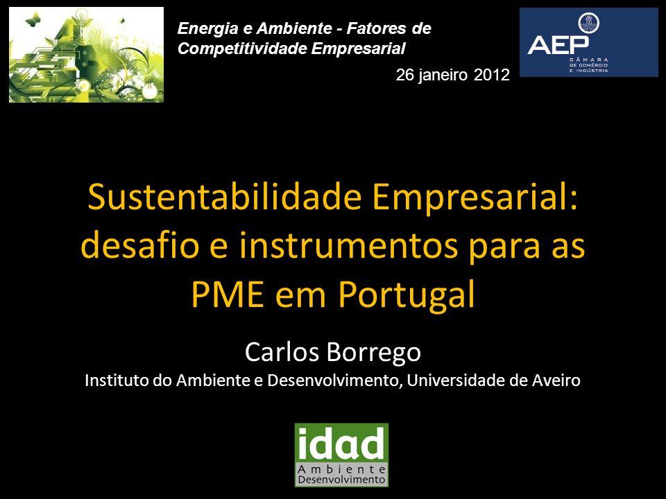 Instituto do Ambiente e Desenvolvimento, Universidade de Aveiro