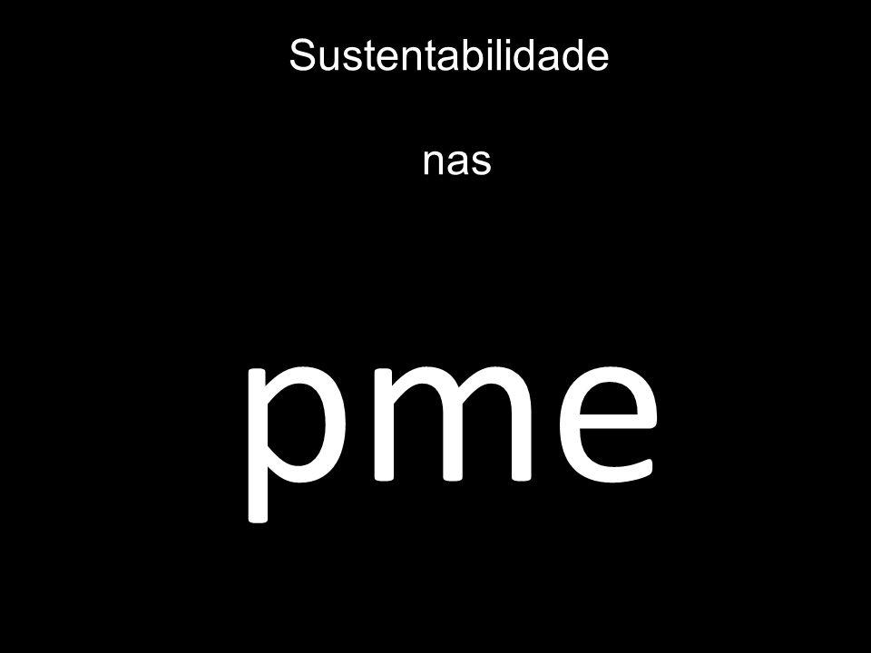 Sustentabilidade nas pme