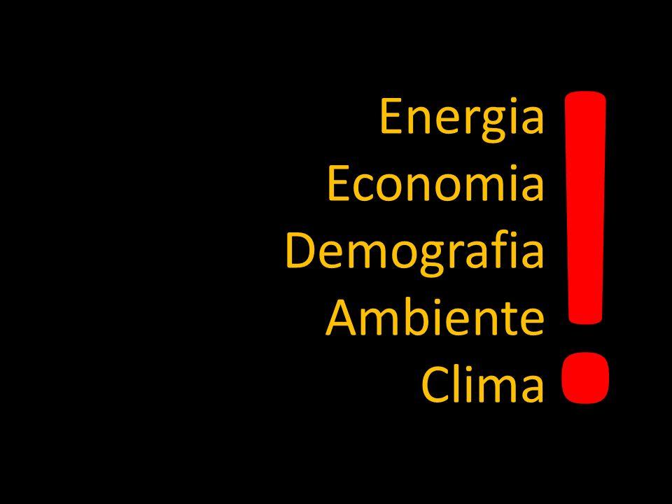 ! Energia Economia Demografia Ambiente Clima