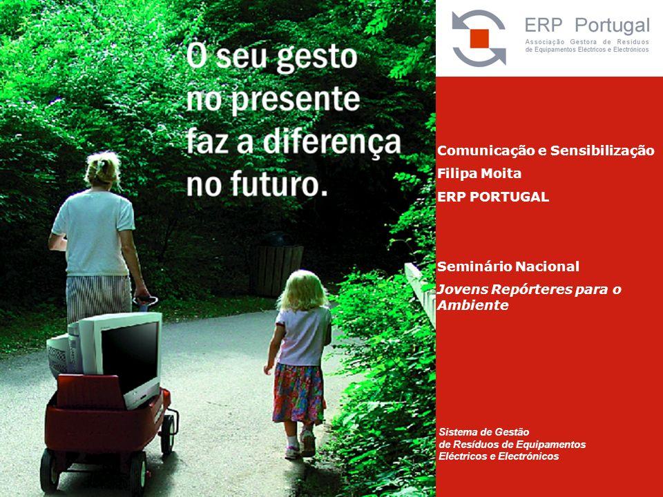 Comunicação e Sensibilização Filipa Moita ERP PORTUGAL