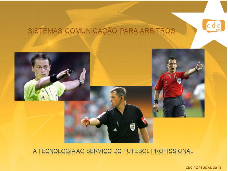 Sistemas comunicação para árbitros