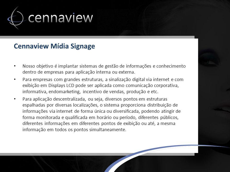 Cennaview Mídia Signage