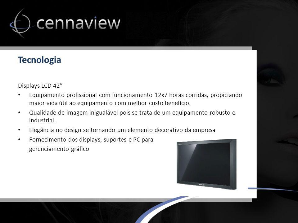 Tecnologia Displays LCD 42