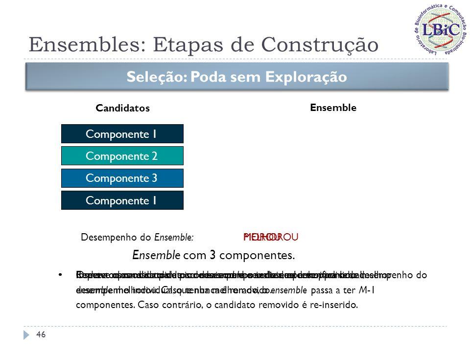 Ensembles: Etapas de Construção