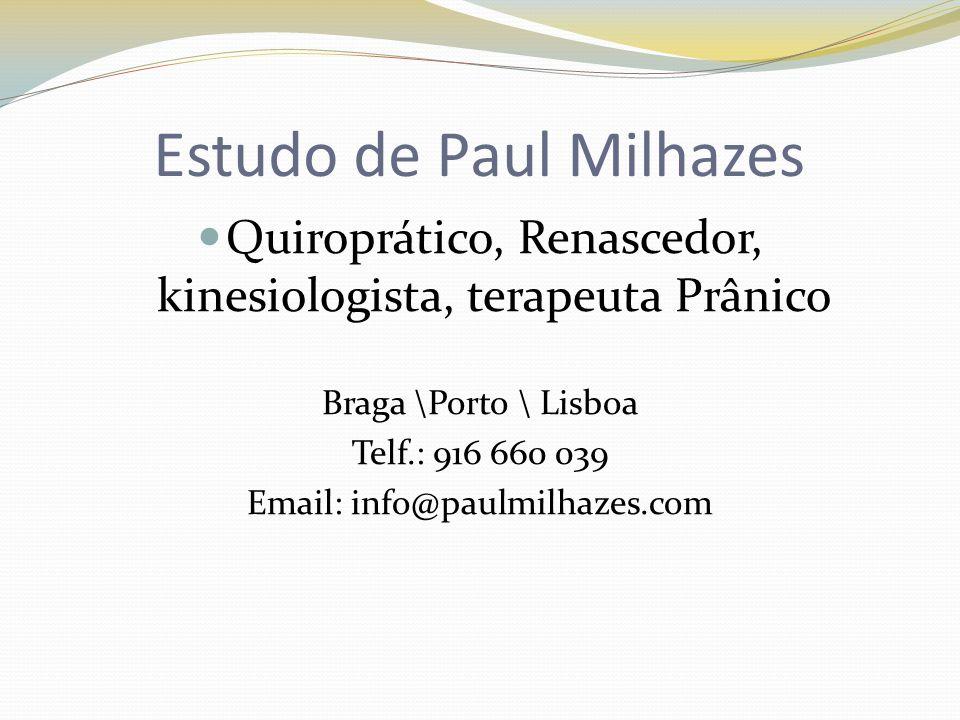 Estudo de Paul Milhazes