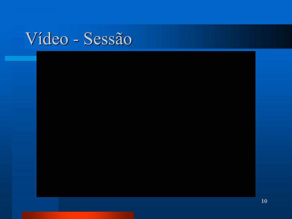 Vídeo - Sessão