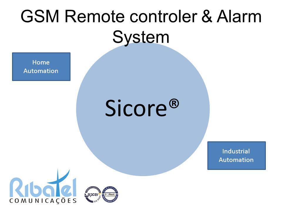 GSM Remote controler & Alarm System