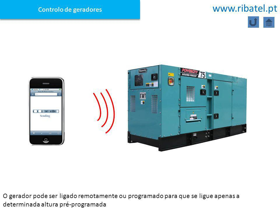 www.ribatel.pt Controlo de geradores