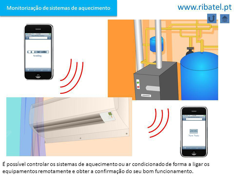 Monitorização de sistemas de aquecimento