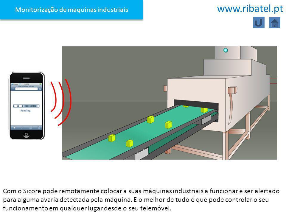 Monitorização de maquinas industriais
