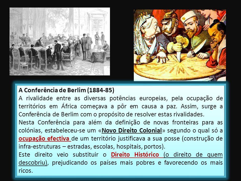A Conferência de Berlim (1884-85)