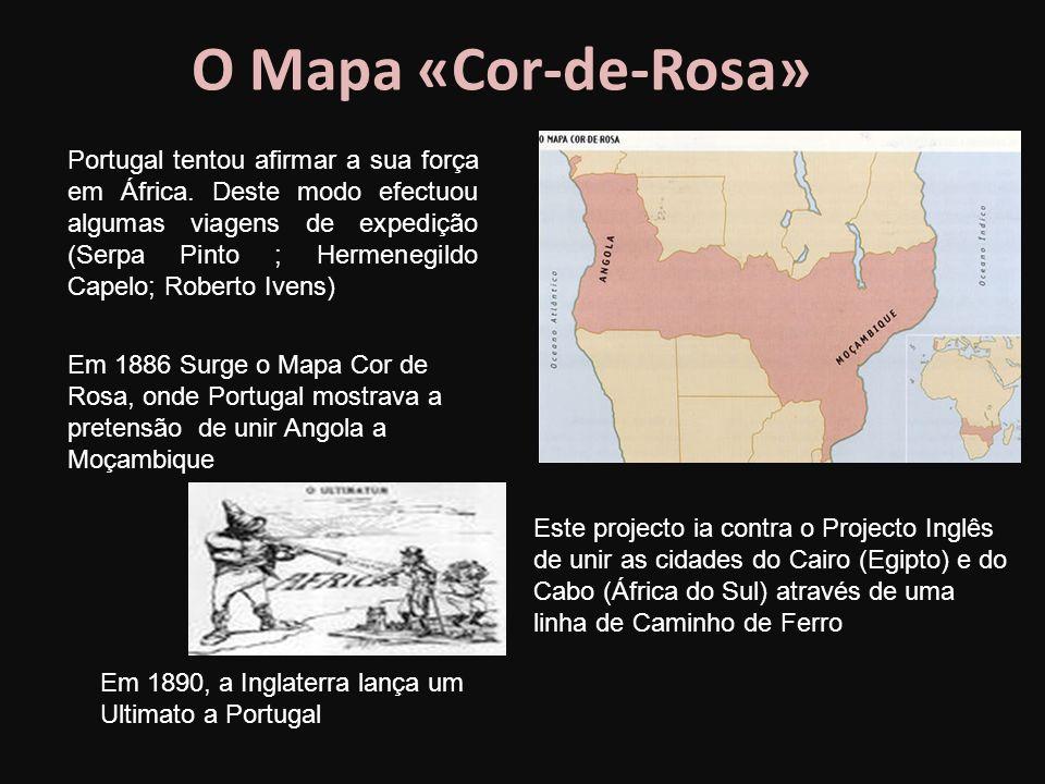 O Mapa «Cor-de-Rosa»