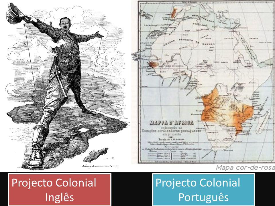 Projecto Colonial Inglês Projecto Colonial Português