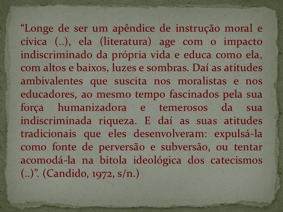 Longe de ser um apêndice de instrução moral e cívica (